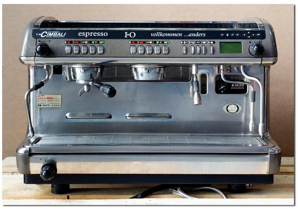 LA CIMBALI M39 DOSATRON  KAFFEEMASCHINE  2GRUPPIG  DT  -> Kaffeemaschine Cimbali